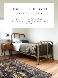 how to decorate on a budget hither u0026 thither