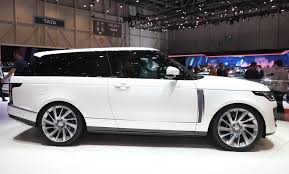 range rover land rover range rover sv coupe revealed priced from 295 000
