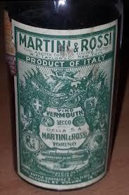 martini rosso vermouth u0026 rossi torino vino vermouth secco liqueur italy ot0906 b25