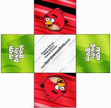 Angry Bird Invitations Templates Ideas Angry Birds Free Printable Boxes Oh My Fiesta For Geeks