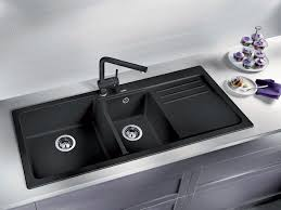 Kitchen Sink Black Blanco Naya8s 1 And 3 4 Sink With Drain Board Sa Appliance Warehouse