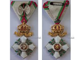 bulgaria order cross crown civil merit 4th class boris