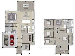 two story house floor plans house plans for two storey house home deco plans