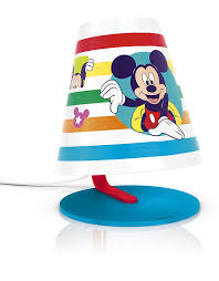 Mickey Mouse Table by Philips Disney Mickey Mouse Children U0027s Table Lamp 1 X 4 W