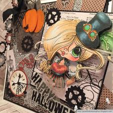 steampunk halloween background halloween steampunk frame scrapbook treasures and more