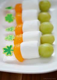 Images Of The Irish Flag Mini Irish Flag Fruit Skewers For St Patrick U0027s Day Finding Zest