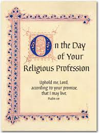 other items religious greeting cards religious profession of