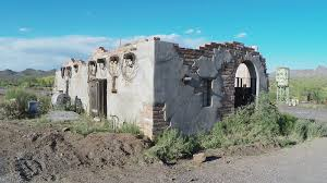 pueblo adobe houses authentic old west adobe house ruin in arizona sonoran desert