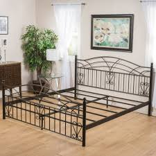 wrought iron bed frames king classic and feminime wrought iron