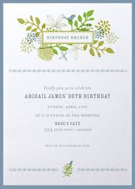 birthday brunch invitation wording shabby chic birthday brunch invitations elise 18th birthday