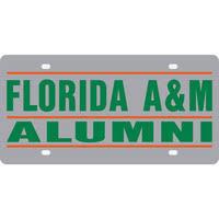 famu alumni license plate frame school spirit accessories florida a m bookstore