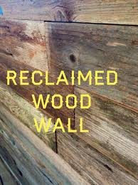 using reclaimed wood home decor using reclaimed wood on walls