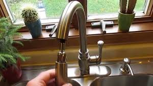 kohler carmichael single handle pull down sprayer kitchen faucet kohler carmichael single handle pull down sprayer kitchen faucet in stainless steel youtube
