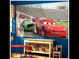 Car Room Decor Disney Pixar Cars Bedroom Design Decorating Ideas Youtube