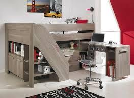 lit superposé bureau bureau mezzanine en 56 idées inspirantes bureau en bois lit