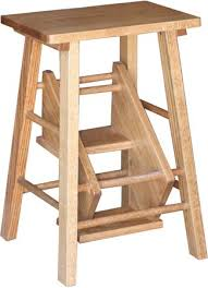 Free Wooden Step Stool Plans by Folding Step Stool