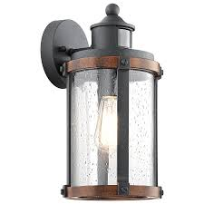 Sconces At Lowes Motion Outdoor Wall Light With Vaxcel Lighting T0126 Harwich