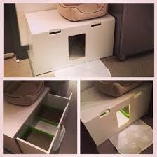 Ikea Litter Box Cabinet Stuva Litterbox For 4 Kitties Ikea Hackers Hacks Pinterest