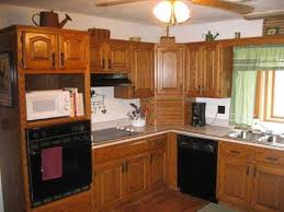 how to update outdated oak kitchen cabinets apartment therapy