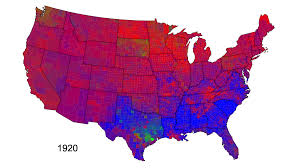 Choropleth Map Example Choropleth Maps Of Presidential Voting David B Sparks
