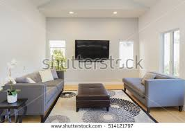 Ceiling Mounted Tv by Wall Mounted Tv Stock Images Royalty Free Images U0026 Vectors
