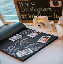 wedding guest book photo album tipfultuesday wedding guest book alternative ideas