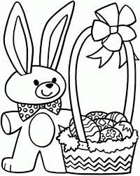 bunny coloring pages free coloring