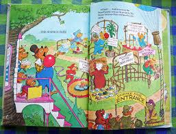 berenstain bears thanksgiving vintage kids u0027 books my kid loves february 2012