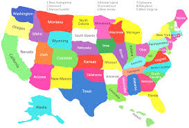 map usa color united states map with color united states map thempfa org
