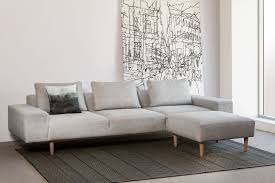 Bespoke Leather Sofas by Contemporary Custom Fabric Or Leather Sofa The Aspen Sofa