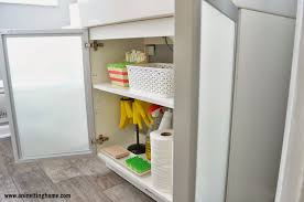 perfect bathroom cabinets organizing u2014 jen u0026 joes design