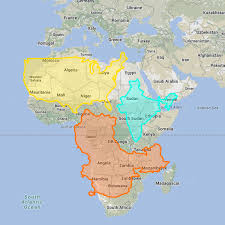Egypt On A World Map by The Real Size Of Countries On A World Map Road Unraveled