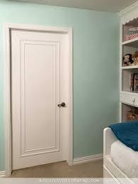 Interior Door Makeover The Easiest Flat Panel Door Update Doors Easy And