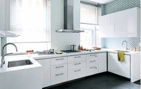 kitchen week geometric backsplash interior homes
