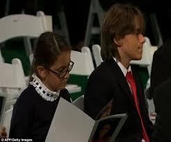 michael jackson funeral program michael jackson funeral elizabeth joins singers children
