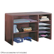 Wood Desk Accessories And Organizers by Desktop Organizers