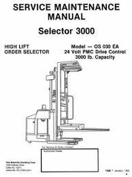 original illustrated factory workshop service manual for yale