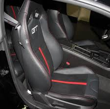 Vehicle Leather Upholstery 2010 2014 Mustang Leather Upholstery Kits With Logos Free Shipping