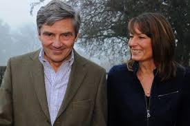 michael middleton police create ring of steel around carole and michael middleton s