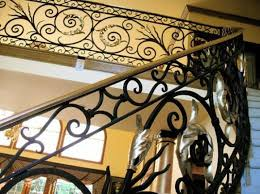 Wrought Iron Banister Rails Wrought Iron Railing Suzhou Dihang Defense Facilities Co Ltd
