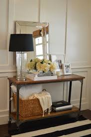 Narrow Wall Table by 25 Best Hall Table Decor Ideas On Pinterest Foyer Table Decor