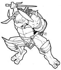 turtle ninja free coloring pages on art coloring pages