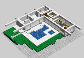 Stahl House Floor Plan by Lego Ideas Case Study House 22 House Stahl Lego Architecture
