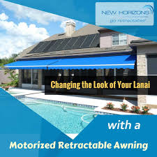 Orlando Awnings Changing The Look Of Your Lanai With A Motorized Retractable
