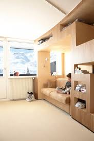 built in furniture for teenagers u0027 rooms by h2o architectes