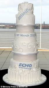 wedding cake liverpool is this the world s most expensive wedding cake luxury gateau