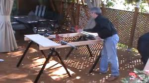 portable work bench and clamp youtube