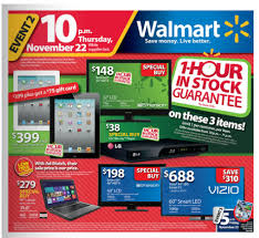 walmart s black friday thanksgiving day ad has been officially