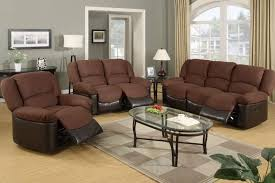 Black Fabric Reclining Sofa by Living Room Amazing Brown Sectional Living Room Ideas With Black
