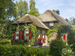 giethoorn rentals in a bungalow for your vacations with iha